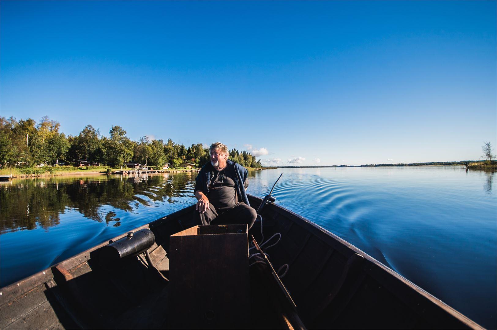 Pietarsaaren saaristo sopii loistavasti veneilyyn, niin isoilla kuin pienilläkin sympaattisilla veneillä.