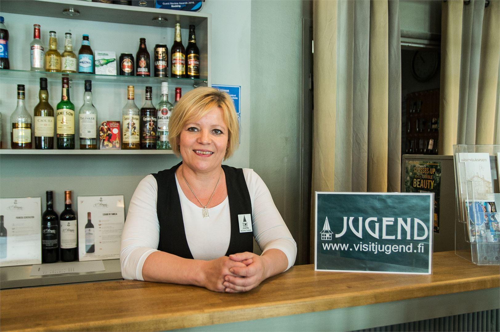 Jugend Home Hotel on kesäisin melko täynnä – etenkin Jaakon Päivien aikaan.