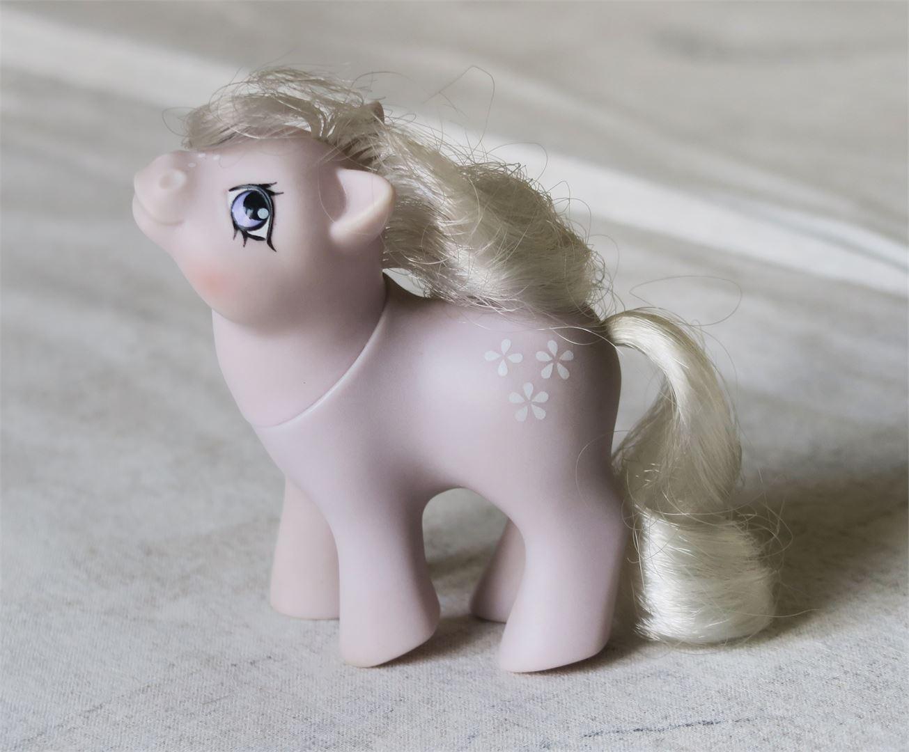 Sannin ensimmäinen poni Baby Blossom.