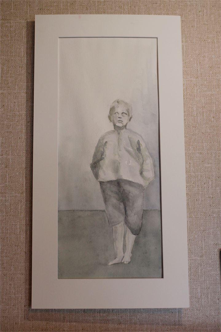 Tältä Eino näytti pikkupoikana.