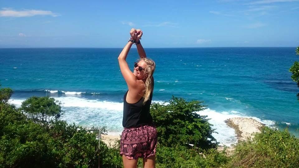Tässä ollaan jo Indonesian Balilla.