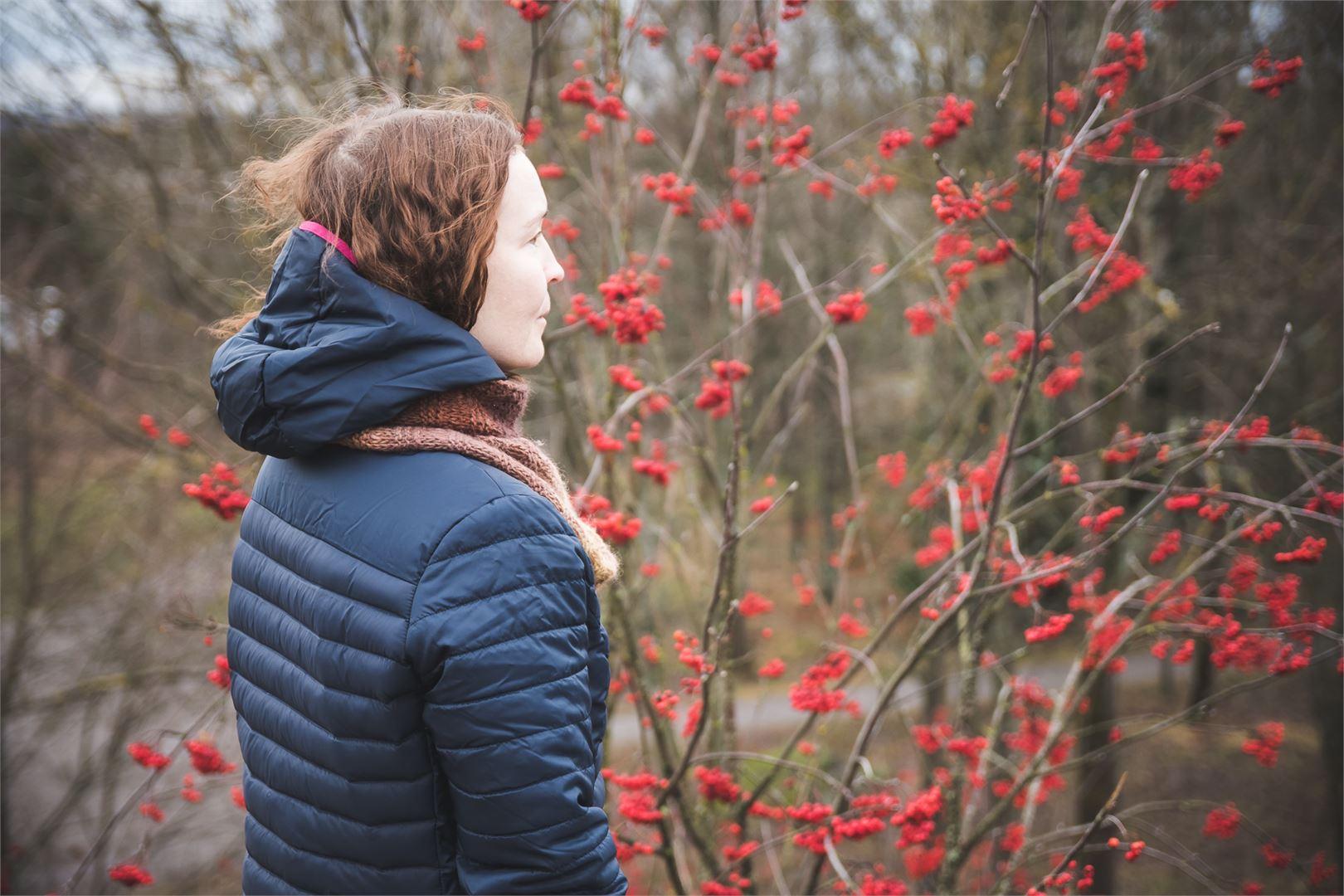 Sadulle yksinäisyyden keskellä tärkeiksi asioiksi ovat nousseet luonto, eläimet, taiteellisuus ja liikunta. Kuva Toni Forssell