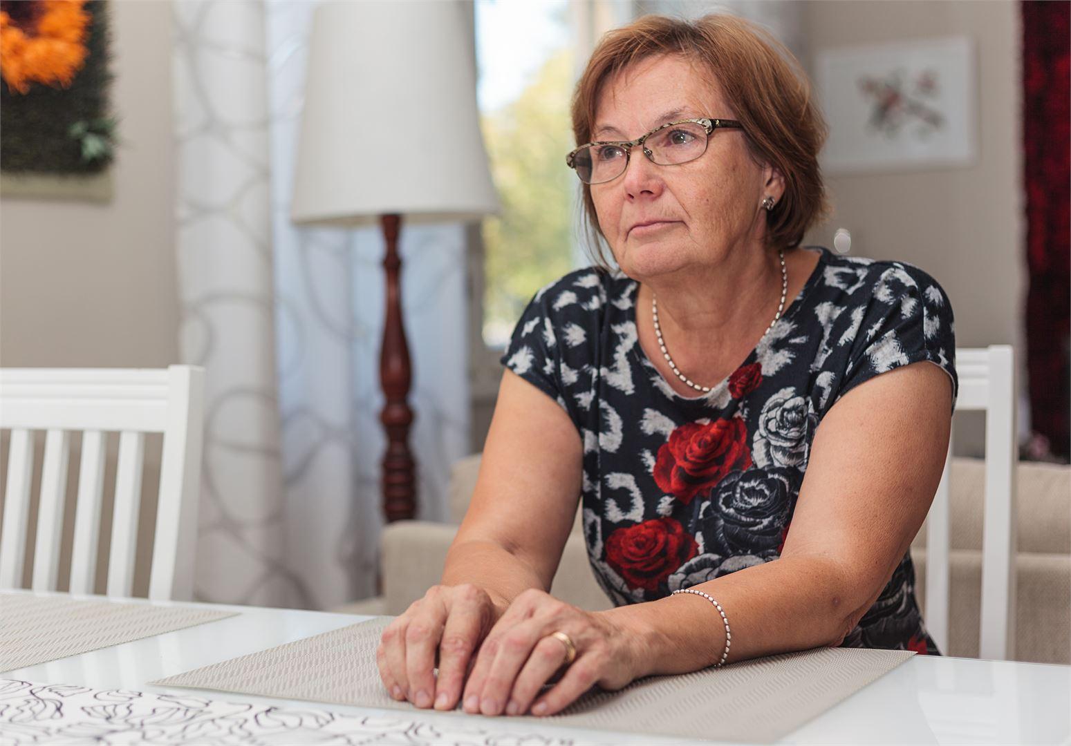 Marja-Leena ei aio antaa sairauden estää elämäänsä. Kuva Satu Keski-Rahkonen