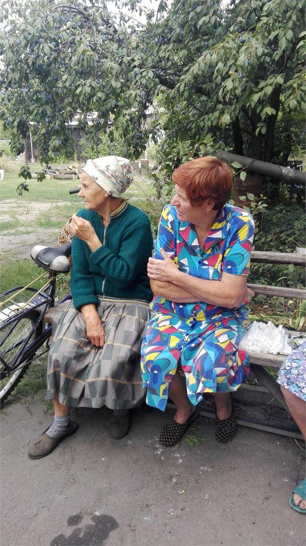 В селе Опытное, осталось не более 50 жителей. В основном пожилые люди.